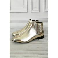 Женские ботинки челси Bianco 26-49635 38 золото