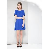 Платье Mango 00000014 М 38 голубой цвет