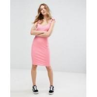 Платье PULL&BEAR 0000072  38 M розовый