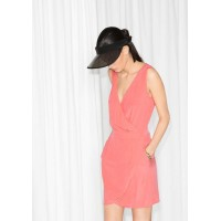 Сукня & Other Stories на запах 00000015 42-XL рожевий колір